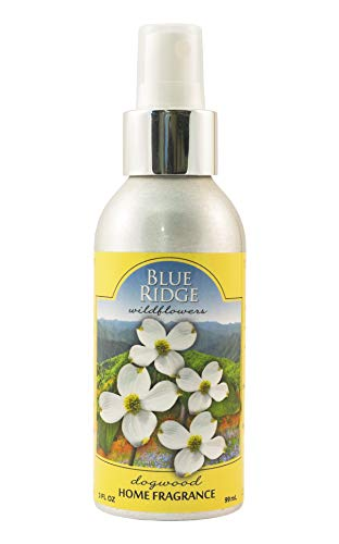 Blue Ridge State Park Wildflower Home Fragrance Room Spray - The Scent of The Blue Ridge Dogwood Wildflowers ()