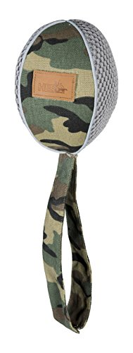 HERO Retriever Series FetchTime Durable Fabric Flying Football, Camo Dog (Hero Camouflage)
