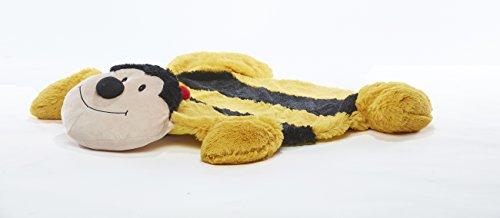 Baberoo Bee Plush Nursery Rug, Soft Baby Rug, 37