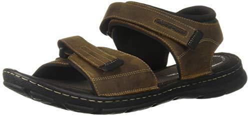 Rockport Men's Darwyn Quarter Strap Flat Sandal