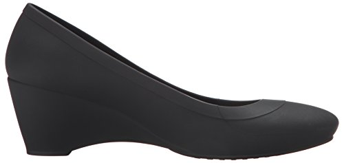 Lina Black Donna Wedge Nero Ballerine Crocs 8TdwP8