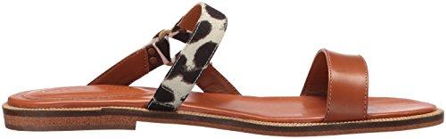 Enzo Angiolini Women's Juliah Flat Sandal, Cognac, 8.5 M US