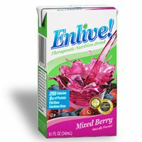 Enlive! 6.75 oz., 32/Case - Mixed Berry by ENLIVE