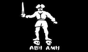 Pirate Jolly Roger Black Bart Roger 5'x3' Flag