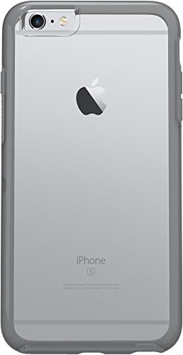 OtterBox Symmetry Clear Series Case for iPhone 6s Plus & iPhone 6 Plus (5.5) - Retail Packaging - Grey Crystal