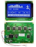 LCD Graphic Display Modules & Accessories STN-Blue (-) 144.0 x 104.0