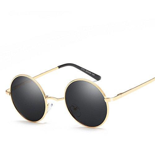Chahua Haut brillant élégant style rétro lunettes de soleil Lunettes de soleil Lunettes de soleil uv commun entre hommes et femmes dans les verres