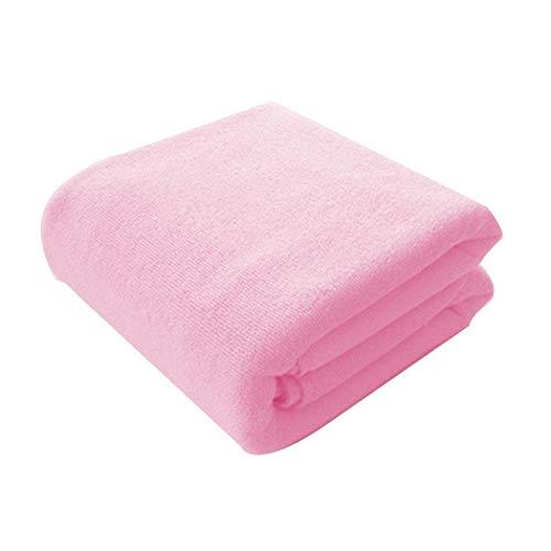 (Legros8 Soft Solid Microfiber Super Absorbent Bath Towel Beach Activity Towel Bath Sheets )