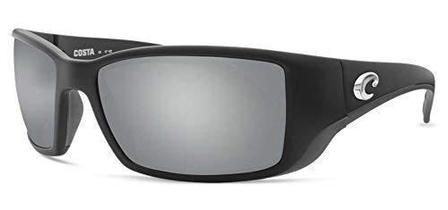 5045dc3ca0 Costa Del Mar Costa Del Mar BL11OSGGLP Blackfin Gray Silver Mirror 580G  Matte Black Frame Blackfin