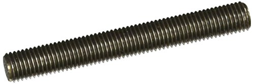 18-8 Stainless Steel Fully Threaded Stud, 5/16''-24 Thread Size, 2-1/2'' Length, Right Hand Threads (Pack of 10) by Small Parts