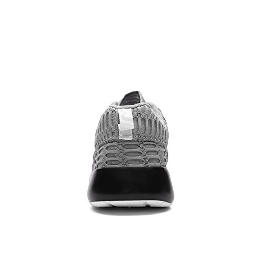 Ying Lan Moda Uomo Outdoor Scarpe Da Ginnastica Casual Sportivo Allenamento Sneakers Traspiranti Grigio
