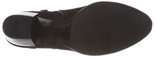 Negro 008 Mujer para Tamaris Botas Cortas 25115 Black Nubuc wqHnX8TWp