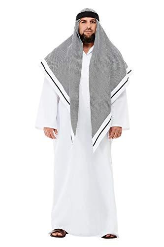 Smiffys 50802L Deluxe Fake Sheikh Costume, Men,