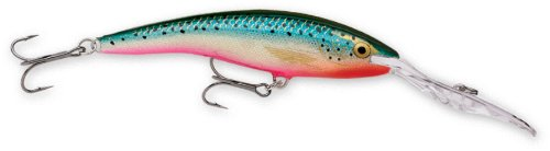 Rapala Deep Tail Dancer 11 Fishing lure, 4.375-Inch, Rainbow Trout