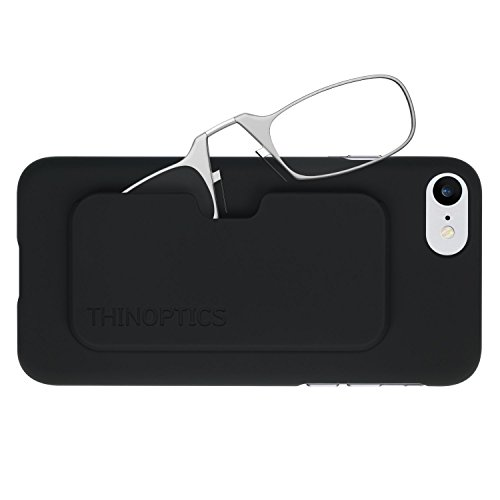 ThinOptics Reading Glasses + iPhone 8 or iPhone 7 Case | Clear Frames, 1.50 Strength from ThinOptics