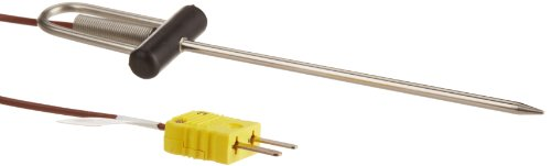 Cooper-Atkins 39035-K Type K 1/8'' Dia Needle Probes Straight Thermocouple Probe, -40 to 400 degrees F Temperature Range by Cooper