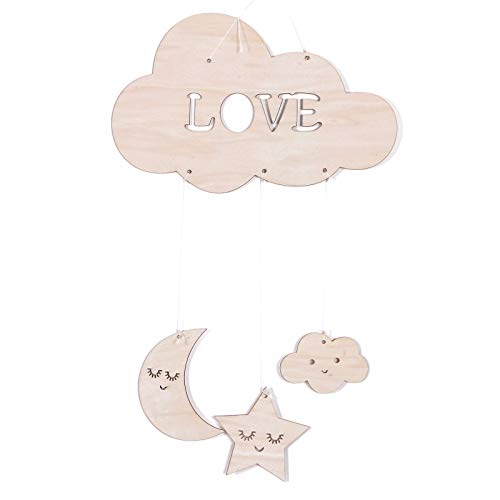 with Stars Hanging Ornament Pendant Wall Hanging Decorations for Baby Shower Baby Nursery Room ()