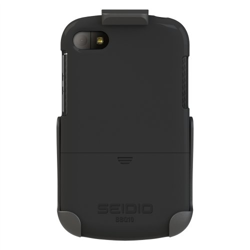 Seidio BD2-HR3BBQ10-BK SURFACE Case and Holster Combo for BlackBerry Q10 - Retail Packaging - -