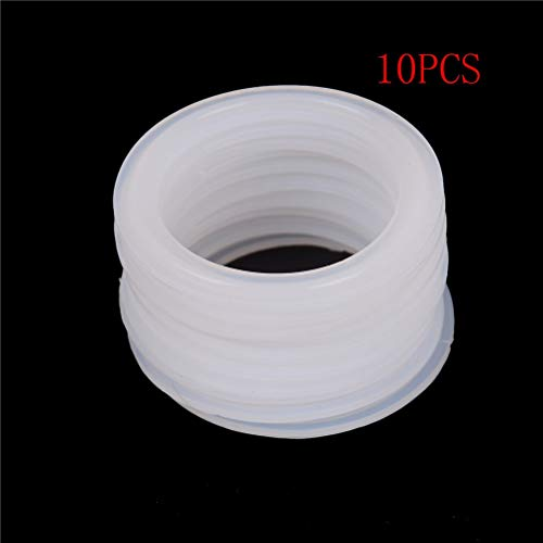 "Toilet Seal Ring 10Pcs 51Mm Pipe X 64Mm O/D Sanitary 2"" Clamp Silicone Sealing Strip Gasket Ring Washer from Sonita3008"