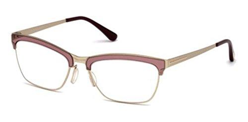 Tom Ford - FT 5392, Cat Eye, metal, women, MATTE GOLD CORAL(071 M), - Cat Prescription Ford Eye Glasses Tom