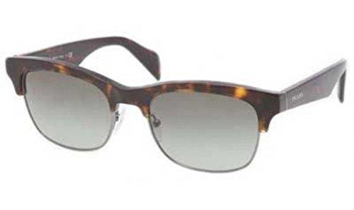 Prada 11PS 2AU3M1 Tortoise 11PS Retro Sunglasses Lens Category - Sunglasses Prada Retro