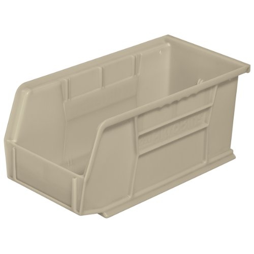Akro-Mils 30230 Plastic Storage Stacking Hanging Akro Bin, 11-Inch by 5-Inch by 5-Inch, Stone, Case of 12 by Akro-Mils