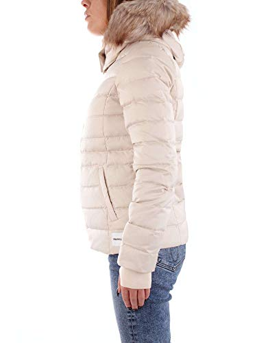 Nylon Beige Weight W Mid Klein Calvin Jeans Doudoune qHwzZnaI
