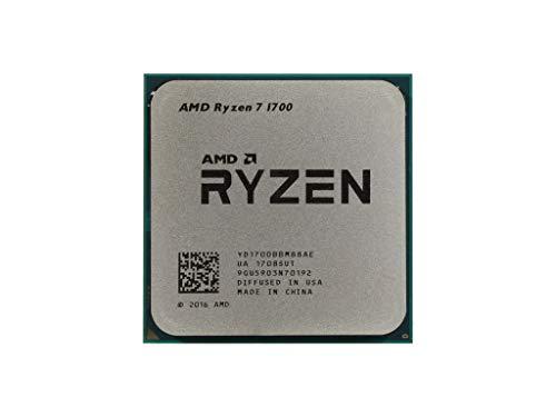 AMD CPU Ryzen 7 1700 3.0GHz 8-Core YD1700BBM88AE Socket AM4 Processor w/Cooler