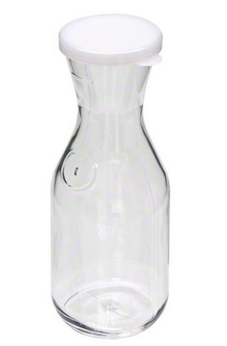 Cambro (WW1000CW135) 1 L Polycarbonate Beverage Decanter - Camwear Camliter (Carafe Unbreakable)