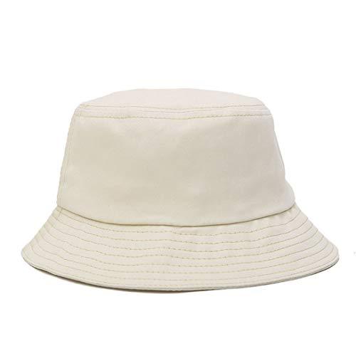Simple Bucket Hat Unisex Men Women Bucket Hat Caps Fisherman Panama Cotton Casual Outdoor Hunting Simple Hats Solid Color