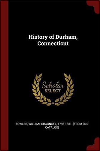 Book History of Durham, Connecticut