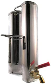DWD (TM) al aire libre madera estufa calentador de agua de acero inoxidable,