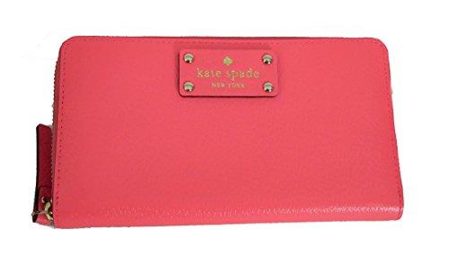 Kate Spade Neda Wellesley Peony Leather Zip Around Wallet by Kate Spade New York