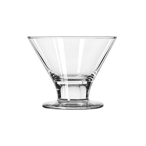 - Libbey Embassy Dessert Martini Dish, 8-Ounce, Clear, Set of 12