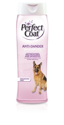 8in1 Perfect Coat Dander Control Shampoo – Fragrance Free – 16 oz, My Pet Supplies