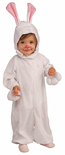 Forum Novelties Kids Fleece Bunny Rabbit Costume, Toddler, One Color -
