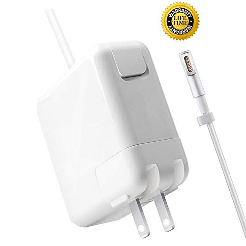 KOEA Mac Book Pro Charger, AC 85w Magsafe Power Adapter Replacement for MacBook Pro 15-Inch and 17-inch Laptop (85L, Before 2012)