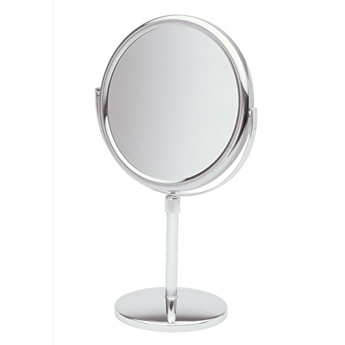 Jerdon JP4045C 9-Inch Vanity Mirror with 5x Magnification, Chrome Finish by Jerdon
