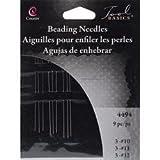 Bulk Buy: Cousin Craft & Jewelry Beading Needles 9/Pkg 3 each of #10#11#12 4494 (12-Pack)