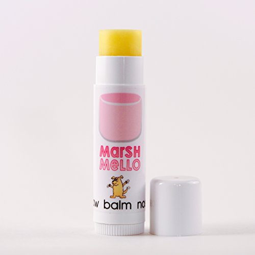 - MARSH MELLO Dog PAW Balm Natural Bee's Wax Stick - for Dogs with Dry, Cracked Paws and Noses! Paw Protection!