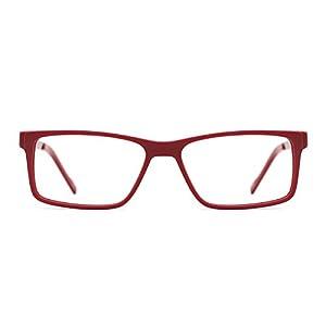 TIJN Womens Rectangle Frame Outstanding Eyeglasses Eyewear