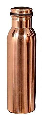 Mr Enterprises Pure Copper Plain Joint Less Water Bottle