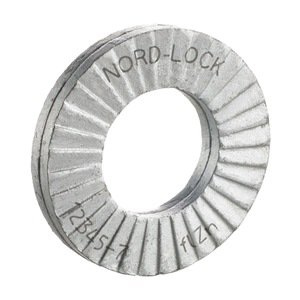 Lock Washer, Fits #10, M5, 0.07Th, Pk 20 (Nord Lock Washers compare prices)