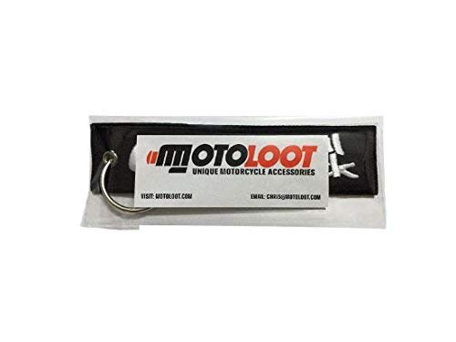 Moto Loot Keychain for Motorcycles, Scooters, Cars and Gifts (0-100 Real Quick)