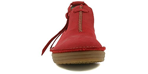 N5044 Rice Red Tibet Field Laces Shoes 39 Woman Pleasant 6rUgwaEq6
