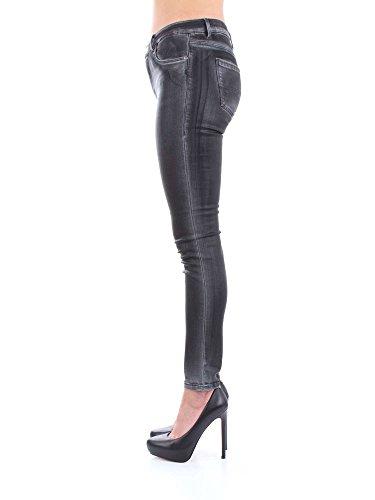 Mujer Negro 1t001542 Pantalones Trussardi 56j00008 6Ynzp6R