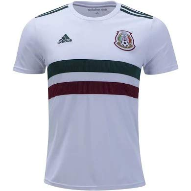 adidas Mexico Official Youth Away Soccer Jersey S/S World Cup Russia 2018 (L) ()