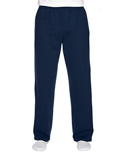 Fruit of the Loom Sofspun Pocketed Open Bottom Sweatpants