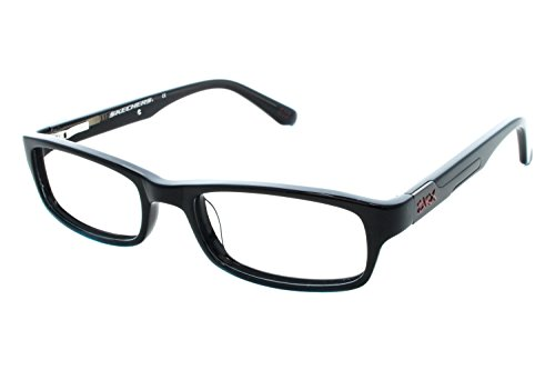 Skechers Childrens Sk 1061 Eyeglass Frames Shiny Black