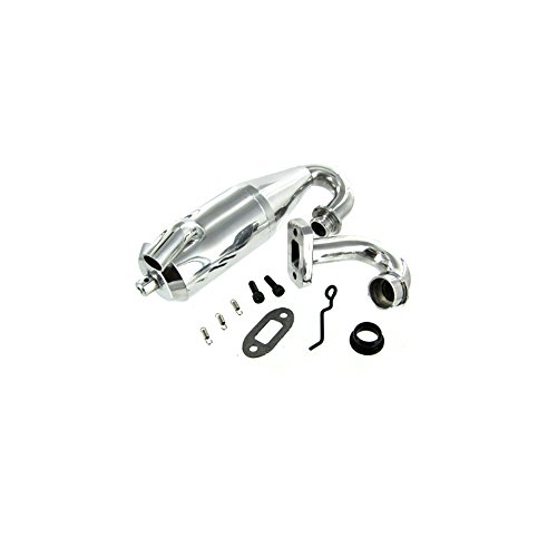 Redcat Racing Aluminum Tuned Exhaust Pipe (Kit Pipe Tuned)